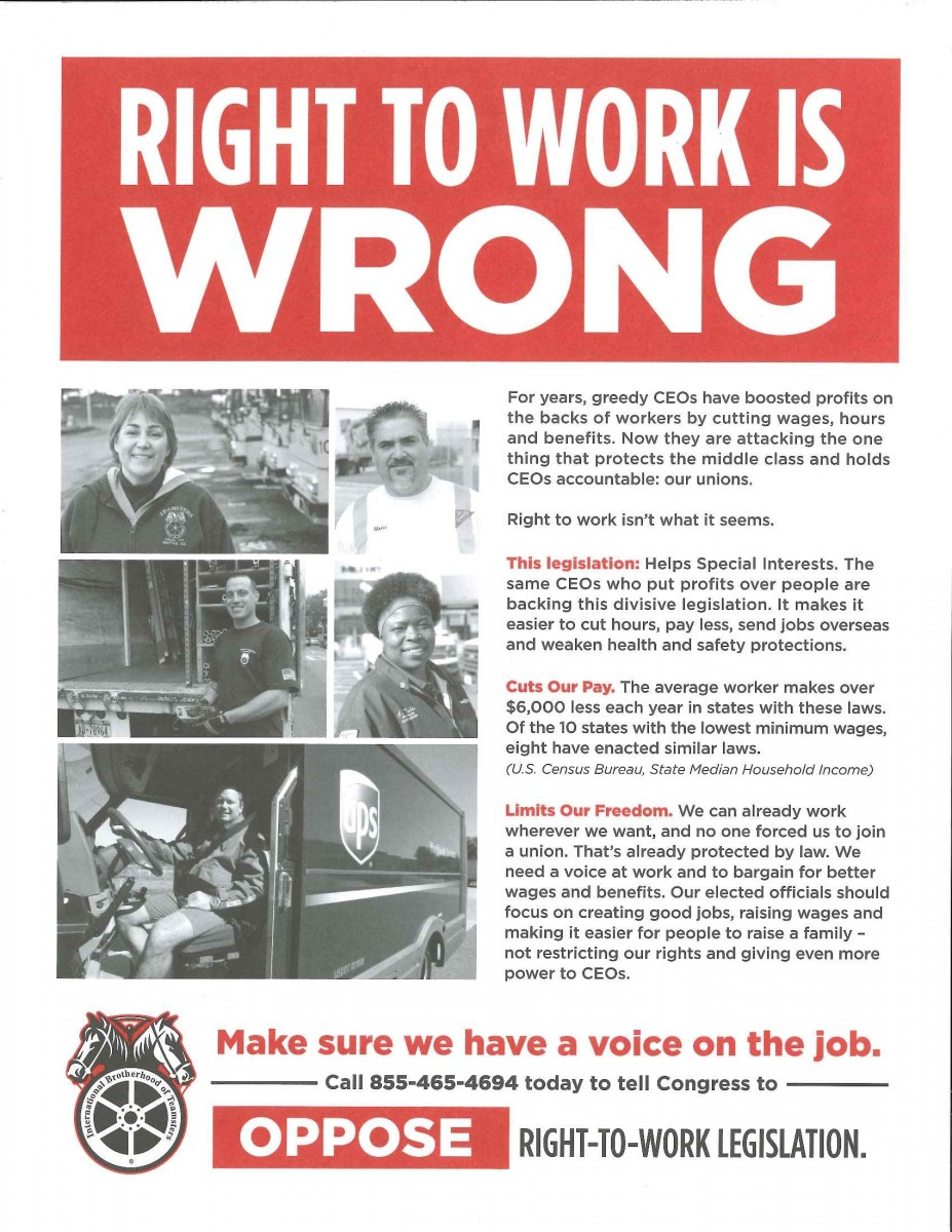 POLITICAL ACTION – Teamsters Local 331